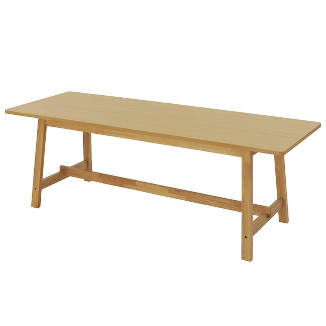 Haynes Table 2.2m - Oak - 4