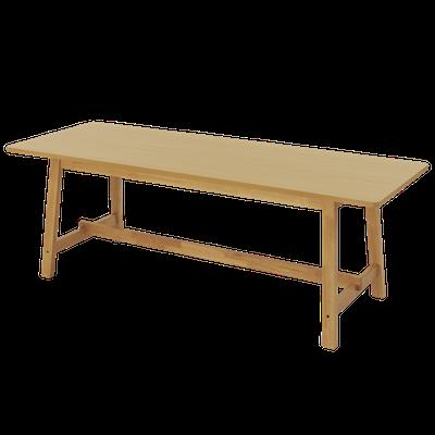 Haynes Dining Table 2.2m - Oak - Image 1