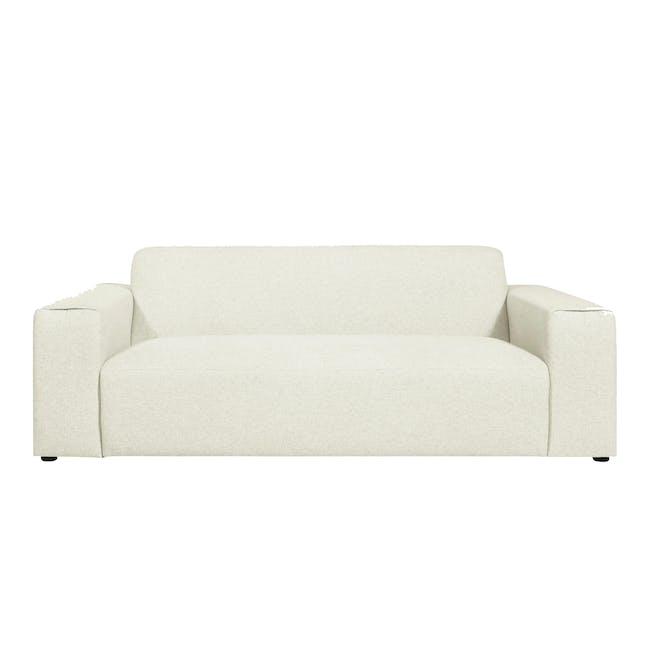 Adam 3 Seater Sofa - Pearl - 0