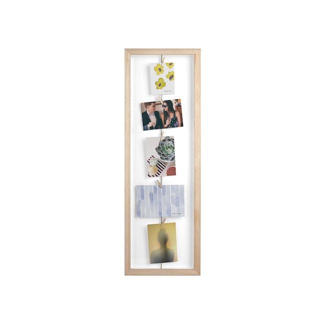 Clothesline Flip Photo Display - Natural - 0