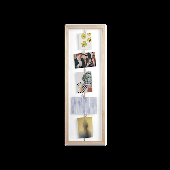 Clothesline Flip Photo Display - Natural - Image 1