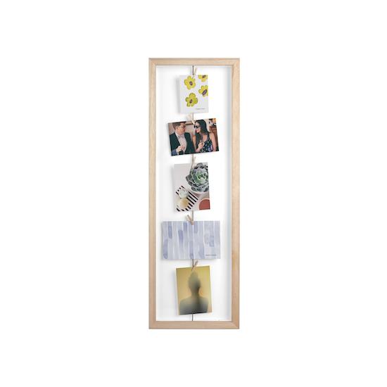 Umbra - Clothesline Flip Photo Display - Natural