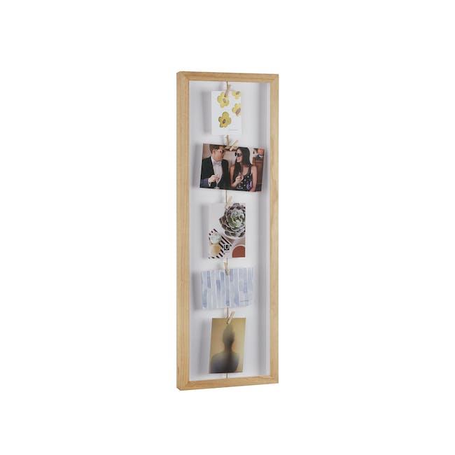 Clothesline Flip Photo Display - Natural - 2
