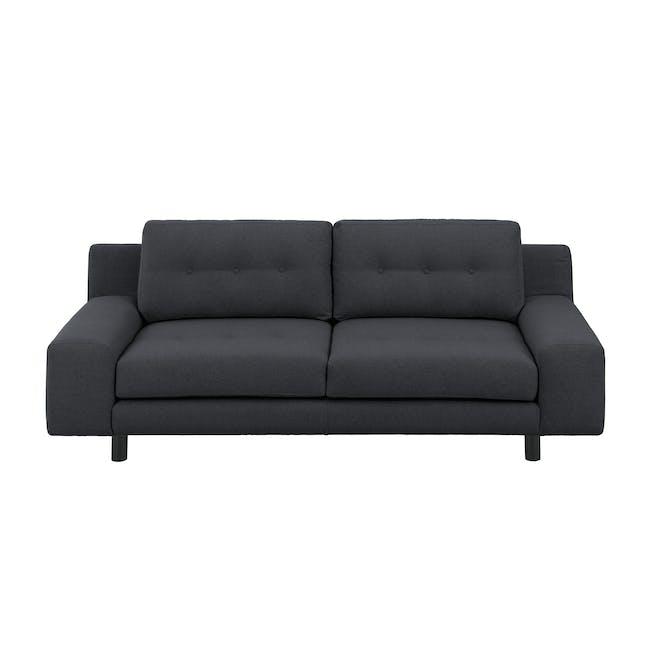 Wyatt 3 Seater Sofa - Carbon (Fabric) - 0
