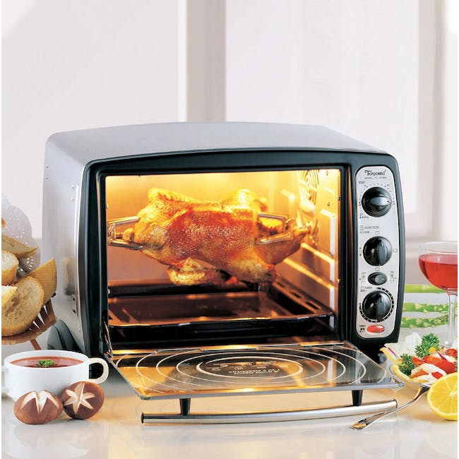 TOYOMI 19L Electric Oven with Rotisserie TO 1919RC - 1