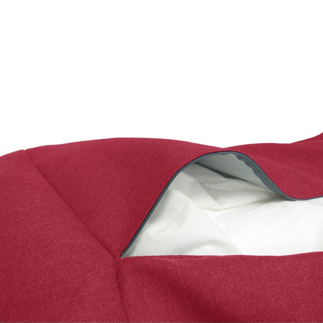 Daisy Bean Bag - Red - 3