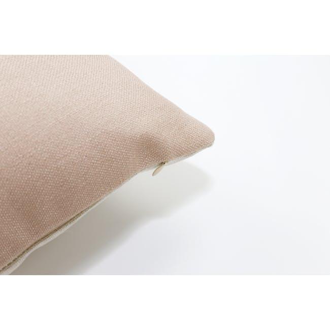Throw Cushion Cover - Peach - 4