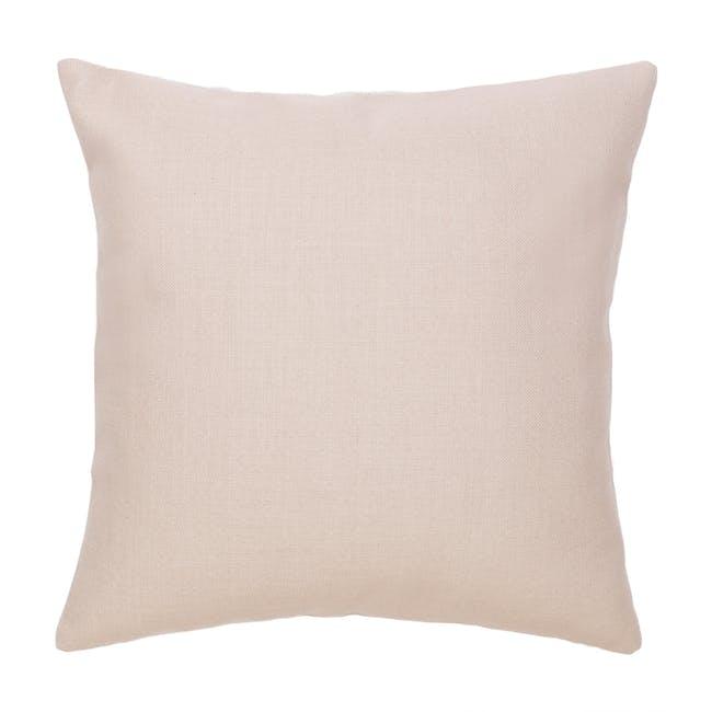Throw Cushion - Peach - 1