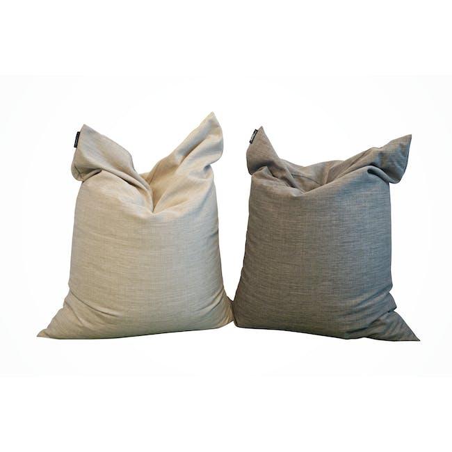 Vesuvius Bean Bag - Sandstone (2 sizes) - 8