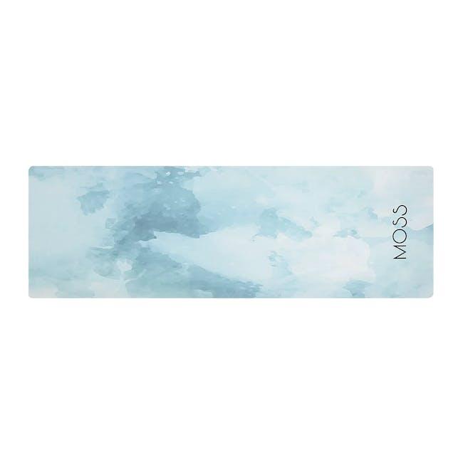 MOSS 2-in-1 Yoga Mat - Glacier - 0