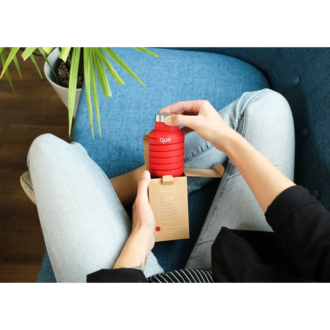 Que bottle - Red - 2