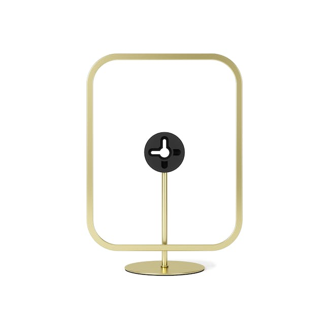 Infinity Rectangle Photo Display - Large - Brass - 4