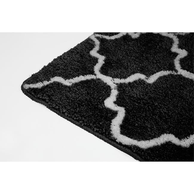 Lattice Floor Mat - Black - 2
