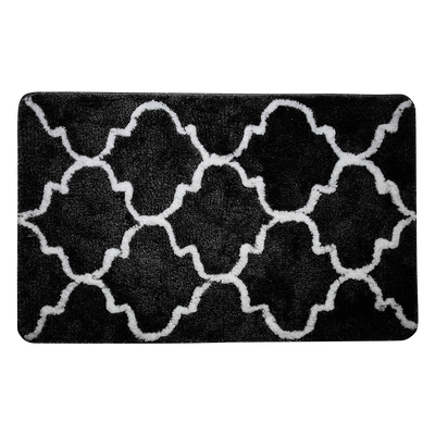 Lattice Mat - Black - Image 1