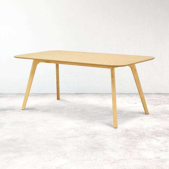 Roden Dining Table 1.8m - Natural - 1