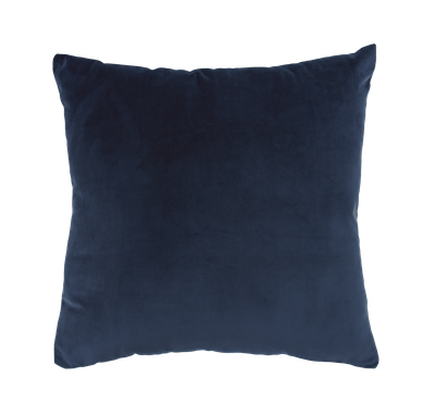 Alyssa Velvet Cushion - Ultramarine - Image 1