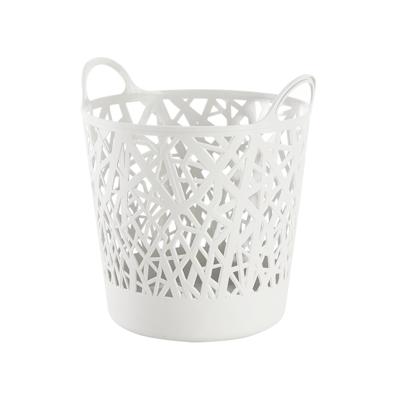 Layla Laundry Basket - White - Image 1