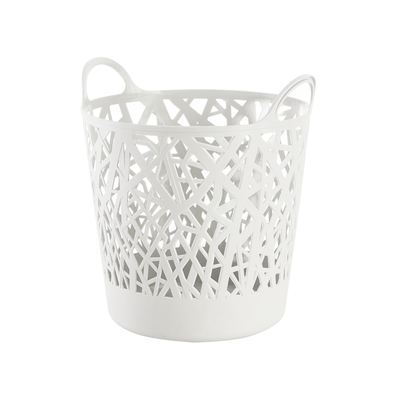 Layla Laundry Basket - White - Image 1