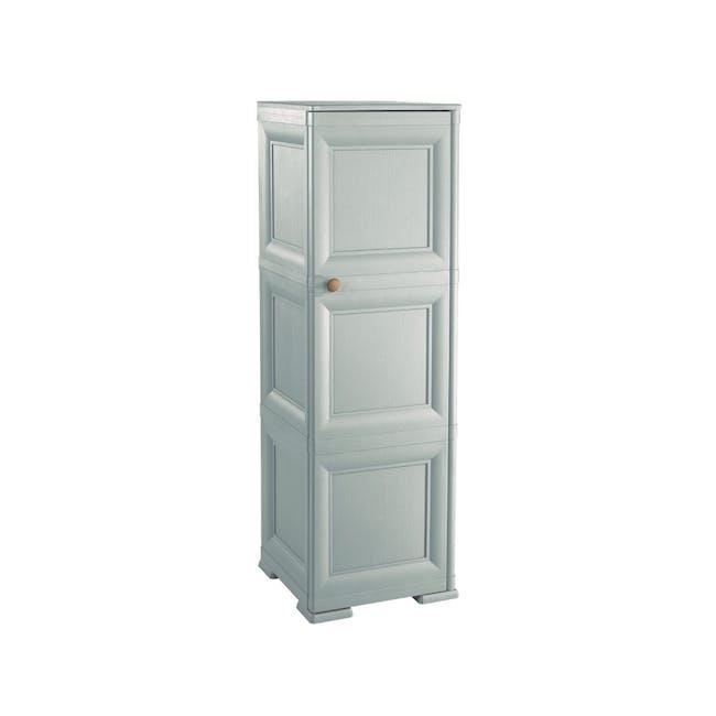 Omnimodus 6 Shelves Shoe Cabinet - Grey - 0