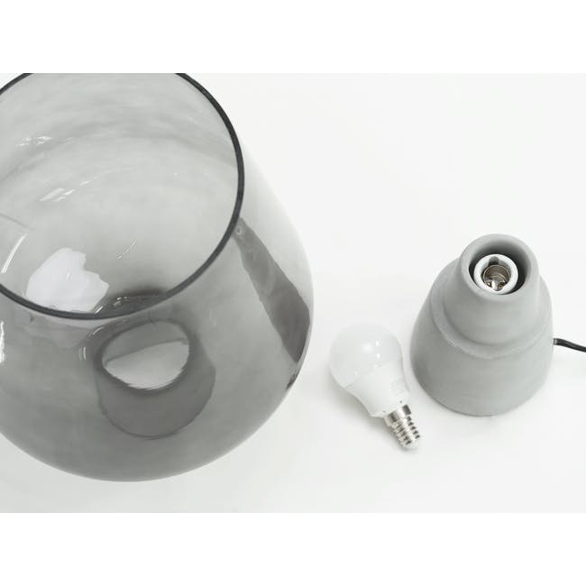 Hayden Table Lamp - Smoke - 3