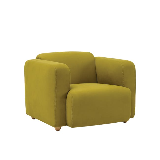 Polo Armchair  - Pickle - 1