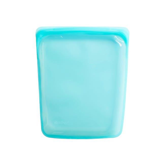 Stasher Reusable Silicone Bag - Half Gallon - Aqua - 2
