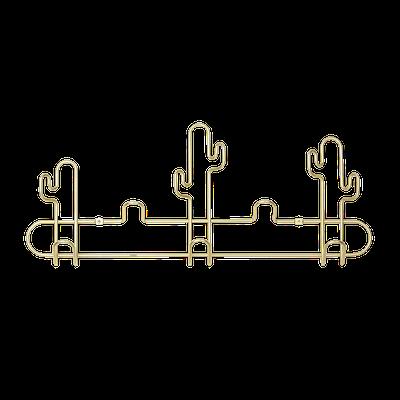 Desert Multi Hook - Brass - Image 1
