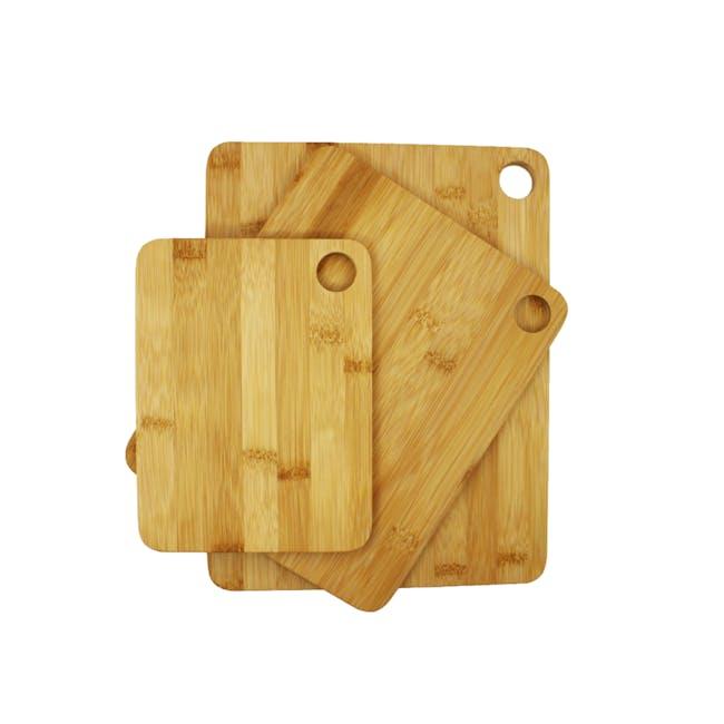 bam.boo Cutting Board - Set of 3 - 0