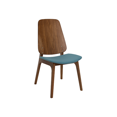 Maddie Dining Chair - Walnut, Clover
