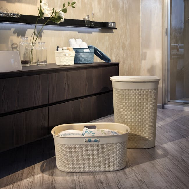 Filo Laundry Basket - Colonial Taupe - 1