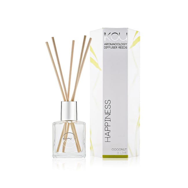 Eco-Luxury Reeds Diffuser 175ml - Happiness - 0