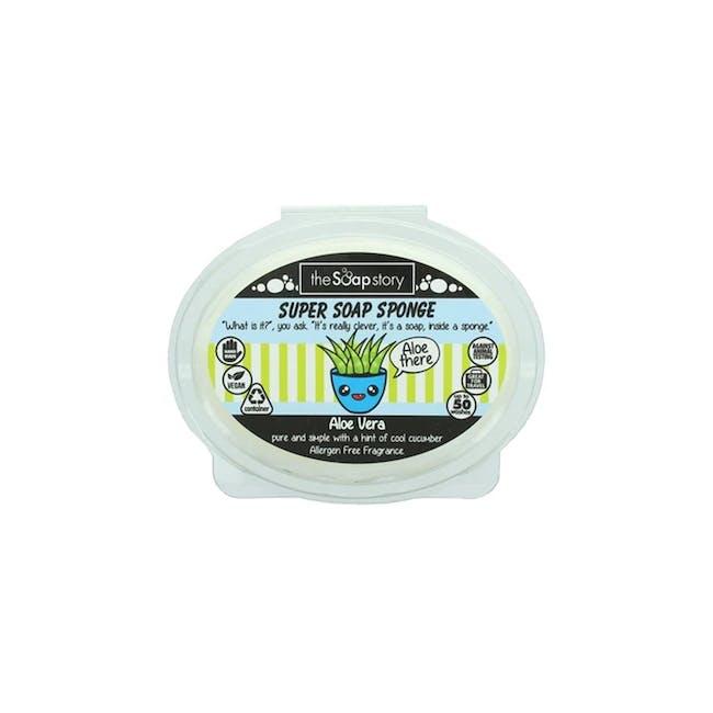 Super Soap Sponge 150g: Aloe Vera - 0