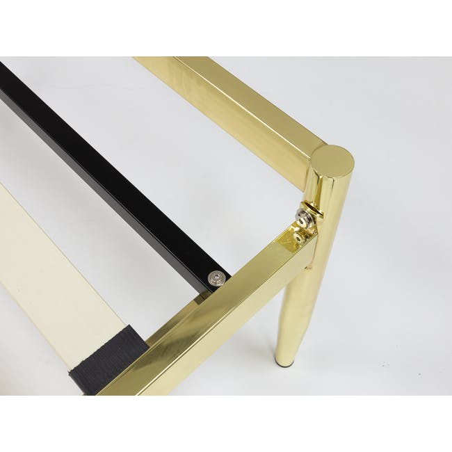 Giselle Single Bed - Brass - 5