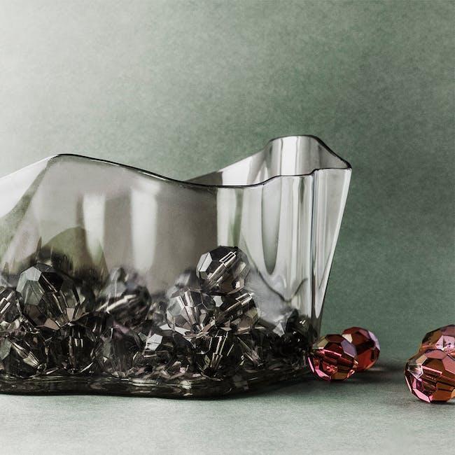 Crystal Flow Bowl - Clear - 4