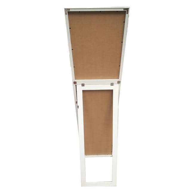 Zoey Standing Mirror 30 x 150 cm - White - 3
