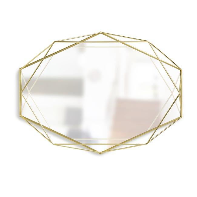 Prisma Mirror/Tray 57 x 43 cm - Brass - 0