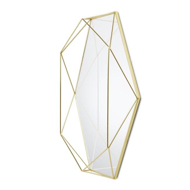 Prisma Mirror/Tray 57 x 43 cm - Brass - 1