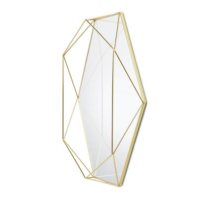 Prisma Mirror/Tray 57 x 43 cm - Brass - Image 2