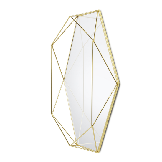 Umbra - Prisma Mirror/Tray 57 x 43 cm - Brass