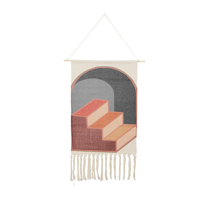 Nordic Tapestry with Tassle - 3 Steps Up - 0