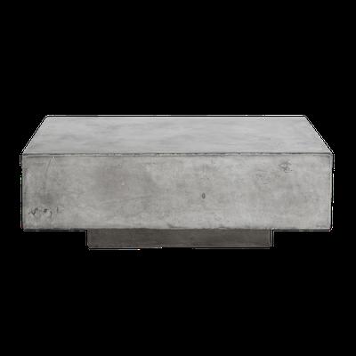Bodhi Square Concrete Coffee Table 0.8m - Image 2