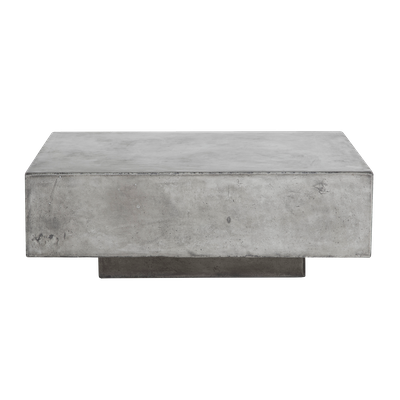 Bodhi Square Concrete Coffee Table 0.8m - Image 2