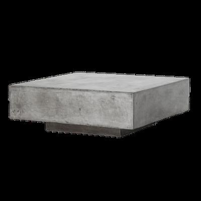 Bodhi Square Concrete Coffee Table 0.8m - Image 1