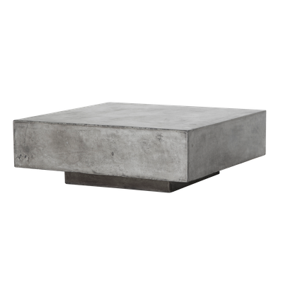 Bodhi Square Concrete Coffee Table 0.8m - Image 1