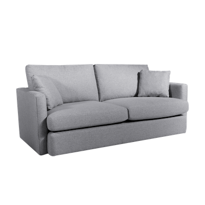 Ashley 3 Seater Lounge Sofa - Grey - Image 2