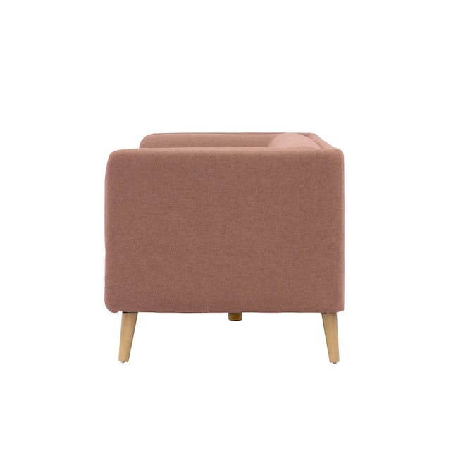 Audrey 2 Seater Sofa with Audrey Armchair - Blush - 11