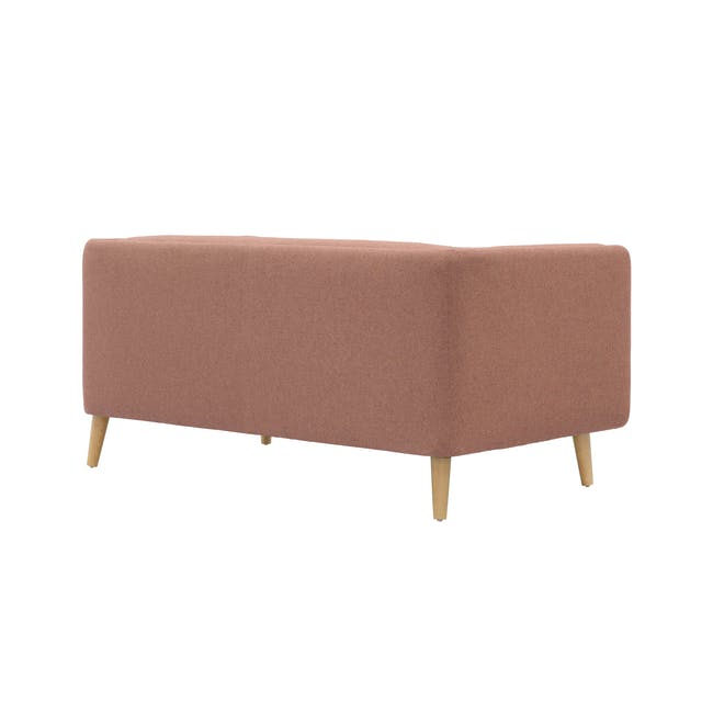 Audrey 2 Seater Sofa with Audrey Armchair - Blush - 12