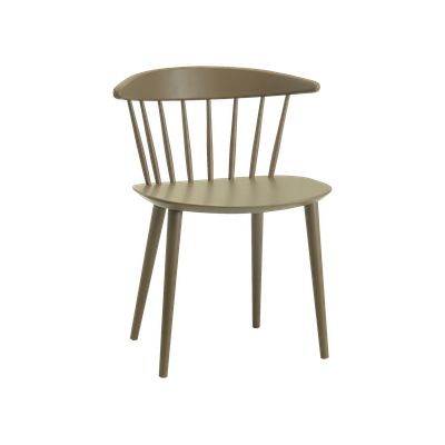 Isolda Dining Chair - Dust Brown Lacquered - Image 1