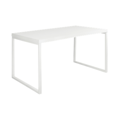 Brent Dining Table 1.2m - White - Image 2