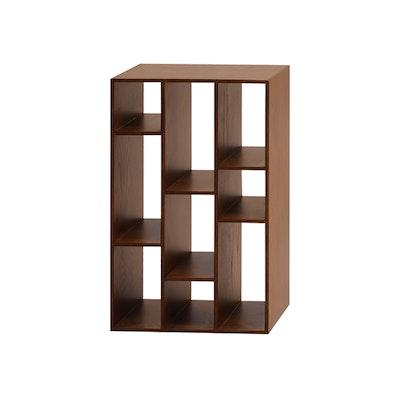 Tertius Multi Shelving Cabinet - Cocoa